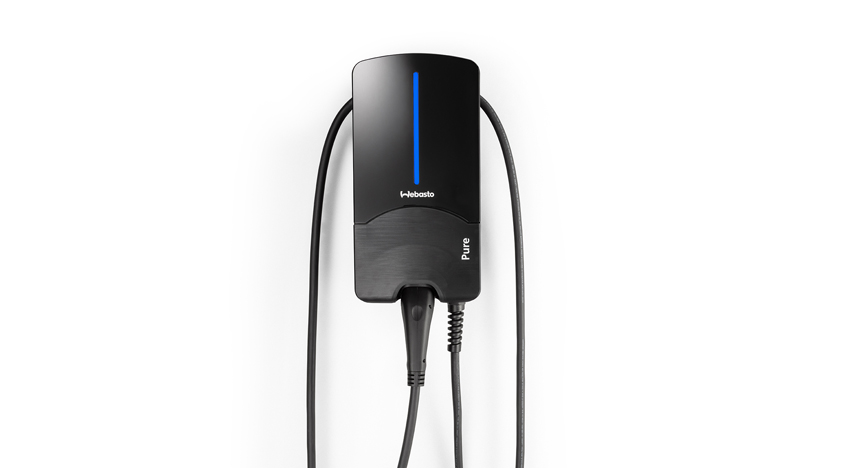 The new Webasto Pure charging station